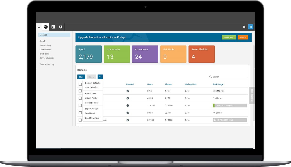 Powerful Web-Based Admin Panel
