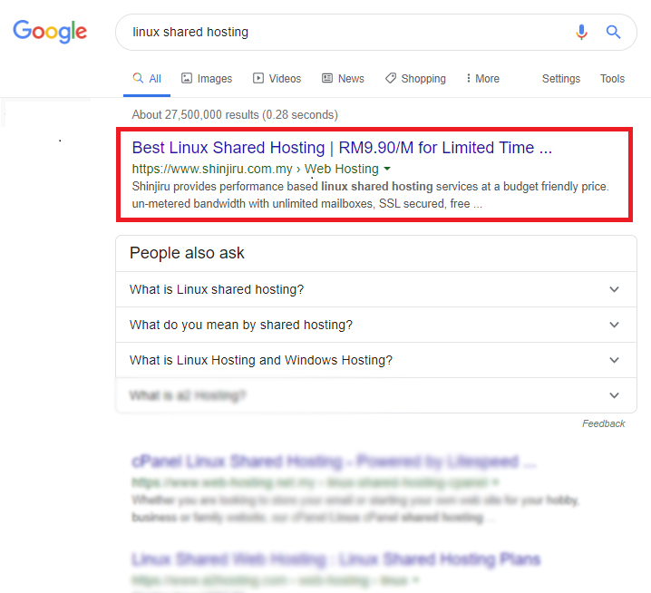 Rank #1st with None Branded and Targeted Keyword