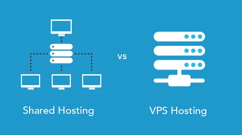 Differences Between Shared Hosting And VPS