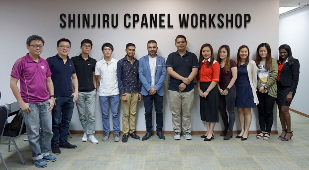shinjiru cpanel workshop 2018