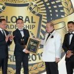 Mr. Shaun Lim, Chief Technology Officer recei