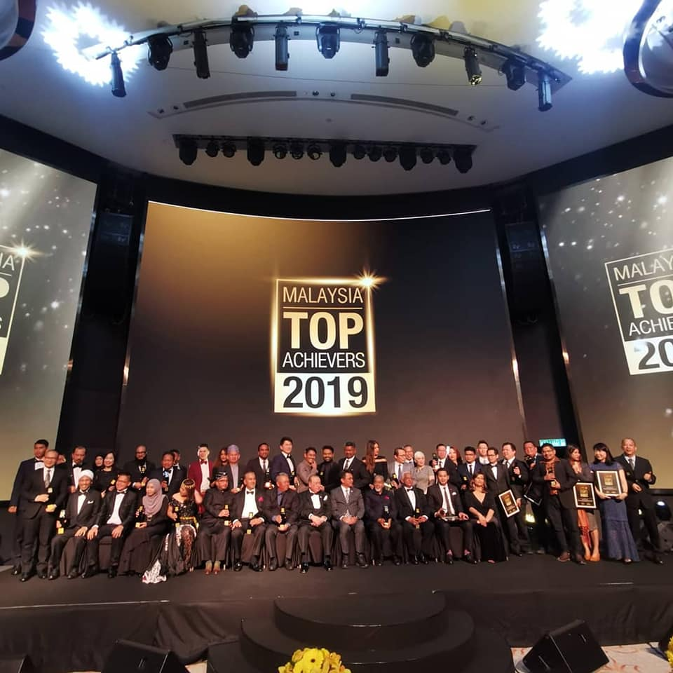 The winners of Malaysia Top Achievers 2019